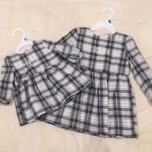 Sister set! 3M & 24M long sleeve dresses